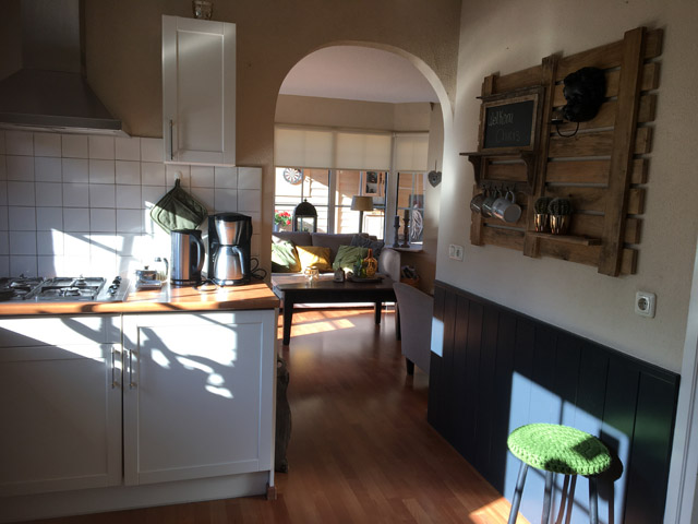 Keuken in vakantiewoning Carpe Diem in Nijverdal